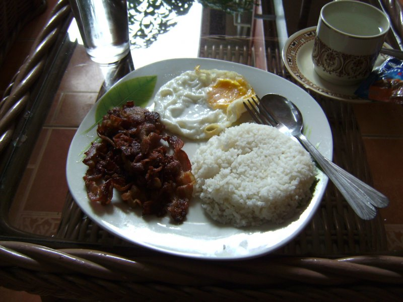 Breakfast @ Moriah Pension - Dumaguete