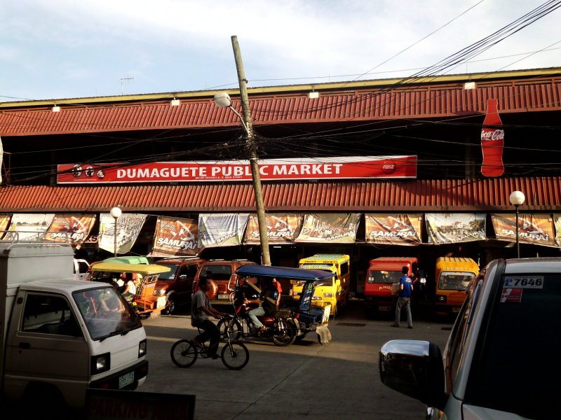 The Dumaguete Public Market is right across the street!